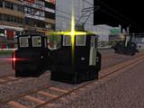 【モデル配布】小さな機関車