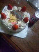 リョーマ君のケーキ作ってみた