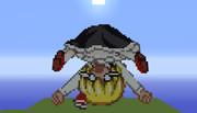 【Minecraft】ルーミア ドット絵【東方】