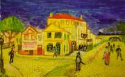 ゴッホの「黄色い家」を模写