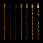 【MMD】木製の杖:選べる6種類【配布】