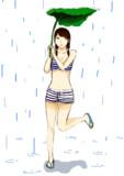 雨だ、、、。