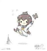 雪風ちゃんズコー!