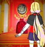 女王との謁見(ミュートピア物語・第4部より)