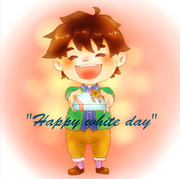 """Happy white day"""