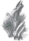 鉛筆で雷狼竜