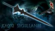【MMD武器】KA002 Sigillanis / シギラニス【両手剣】