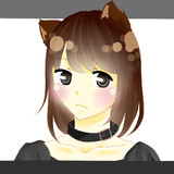 猫耳×ゴスロリ(?)