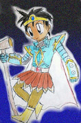 DQ1勇者・魔法の鎧。