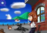 【艦これ】夏の鎮守府の休日