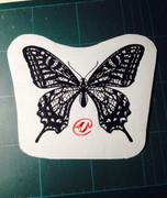 切り絵「蝶」