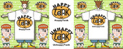 「HappyTank(UnhappyTank) マーク」Tシャツ