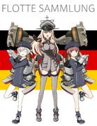 ドイツからの3人艦娘