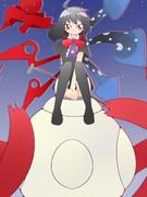 円盤少女。