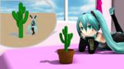 【MMD】サボテンと植木鉢【アクセサリ配布】