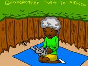 おばあちゃん、アフリカで迷子