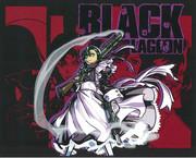 切り絵「BLACK LAGOON」