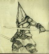 サムライ風 三角さん