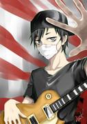 俺のギターで。