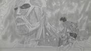 【シャーペン】進撃の巨人OP・ミカサ版イェーガー「5年ぶりだな」②