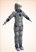 作業用の宇宙服製作中