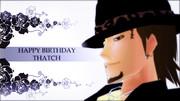 Happy Birthday Thatch!