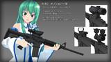 「4月12日更新」MMD アクセサリ M4A1