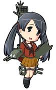 最上型航空巡洋艦2番艦 三隈・改 「くまくまするわ」