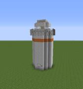 マインクラフト 灯台(アンテナなし)
