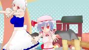 【MMD】レミリア・スカーレットVer1.10【モデル配布】