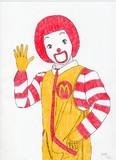 ドナルドをもう1度描いてみた