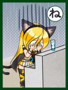 【ねこしゃくしー!】猫がほにゃらら【Lily】
