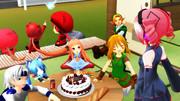 テトさん、誕生日おめでとう!【MMD】