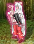 [東方] 藤原妹紅にお姫様抱っこされて幸せいっぱいのミスチー