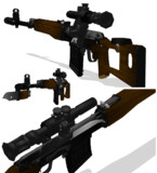 ドラグノフ狙撃銃 画像その2