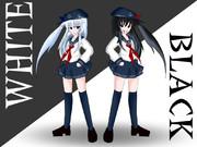 駆逐艦な白と黒