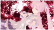 伊自良湖で夜桜ミクさんと・・・
