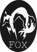 切り絵 FOX部隊エンブレム