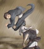 藤美さんと平賀さん(昔日)