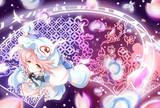 桜符「完全なる墨染の桜 -亡我-」