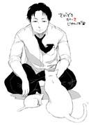 江藤さんと猫