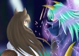 STAGE:4 魔法の森 BOSS:カオティック・ウルフ 『咆哮』