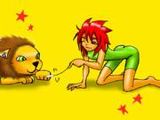 ライオン使いの女の子