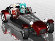 【特撮】セブンセブンセブン!【レーシングミク】【MMDモータースポーツ】