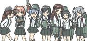 完全に朝潮型駆逐艦。