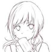 ヒヨリ線画【不変と暑さ】