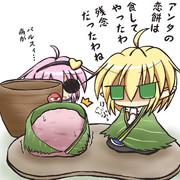 桜餅にぱ~るぱる