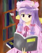本読むパチュリー