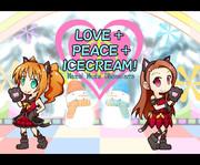 LOVE+PEACE+ICECREAM!
