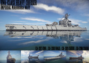 【Minecraft】えな型重巡洋艦